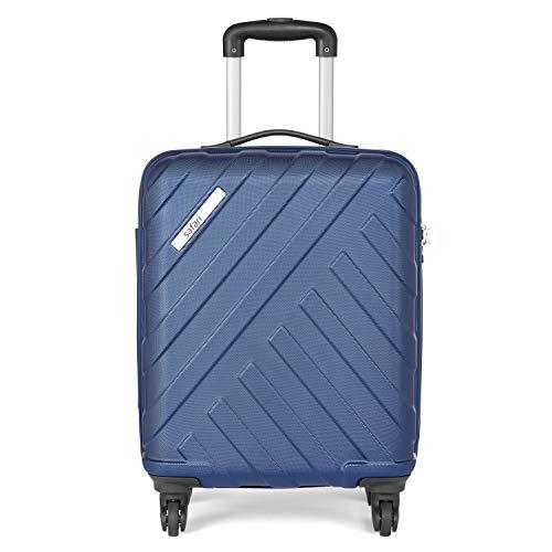 Safari RAY Polycarbonate 53 cms Midnight Blue Hardsided Cabin Luggage (RAY534WMBL)