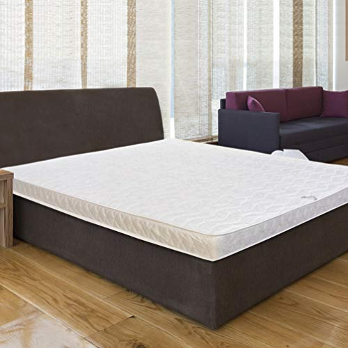 Baldiflex Materasso Francese Easy Small 140 x 180 cm, Cotone Ortopedico, 140x180, con schiuma,...