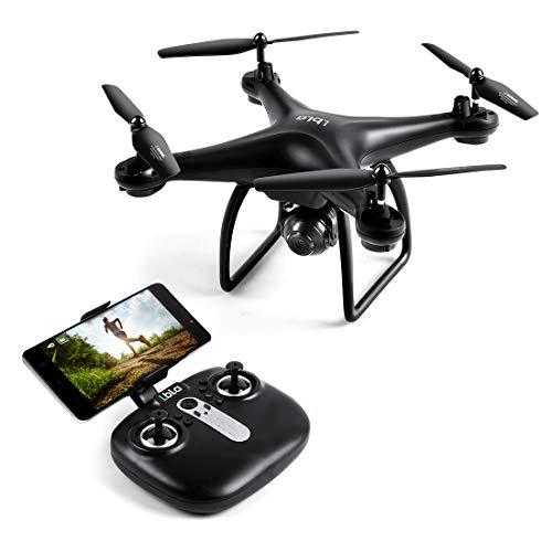LBLA Drone con Telecamera HD 720P 2.4 GHz 3D-Flips modalità Senza Testa RC Aeromobili per Bambini...