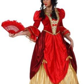 Atosa - Disfraz de época para mujer, talla M/L (10148)