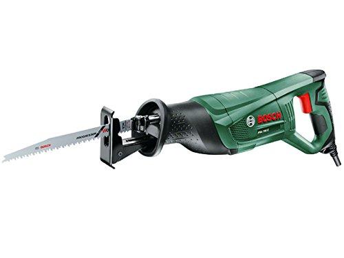 Bosch PSA 700 E - Sierra sable de 710 W con cable, incluye hoja de sierra de madera S 2345 X, sistema SDS y empuñadura antivibraciones SoftGrip, en caja de cartón (230V, 3.0Ah)