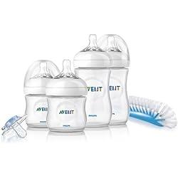 Philips Avent SCD290/01 - Set básico para recién nacido AVENT gama Natural. Se adapta a las necesidades de su bebé, biberones clínicamente probados