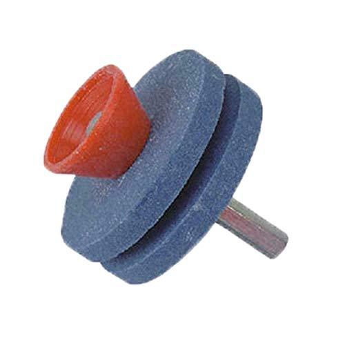 Kuizhiren1 - Afilador de cortacésped Universal Resistente al Desgaste, Herramienta para Taladro eléctrico de Mano para jardín, Patio, Cocina