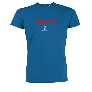 2018 FIFA World Cup Russia T-Shirt aux Couleurs du Japon