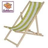 Eichhorn 100004546-Outdoor Niños de Sol Silla, Ajustable, 40kg, Madera de Haya