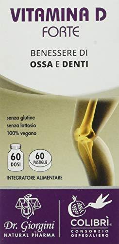 Dr. Giorgini Integratore Alimentare, Vitamina D Forte Pastiglie - 30 g
