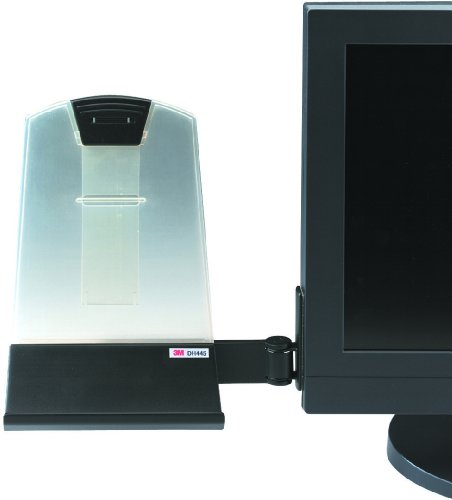 3M DH445 Konzepthalter (25,5 x 23,0 x 7,0 cm) schwarz/transparent
