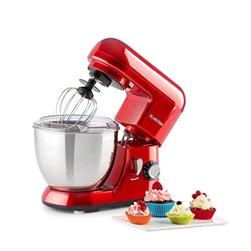 Klarstein Bella Pico • Mini Impastatrice Planetaria • Robot Da Cucina • 550 W • 4 L • 6...