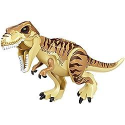 Comtervi Dinosaurios, 28cm Niños Dinosaurios bausteine carnívoras NIU Long Tyrannosaurus mischling Raptor Tyrannosaurus Juguete, niños Regalo Juguete Dinosaurio, 3