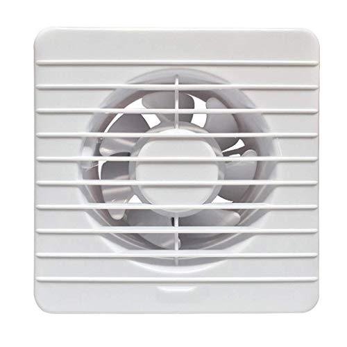 Ventilatore di Scarico da 6 Pollici Bagno Cucina Ventilazione Volume d'Aria Domestica: 1,1 m3 / min...