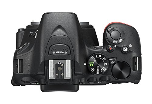 "Nikon D5500 - Cámara digital 24,2 Mp (pantalla táctil de 3.2"", Wi-Fi, USB, HDMI, enfoque automático, Flash integrado, GPS), negro"