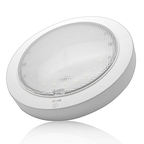 Luci interne – Maso 12 V 9 W luce LED plafoniera per roulotte/camper/roulotte/barca Surface...
