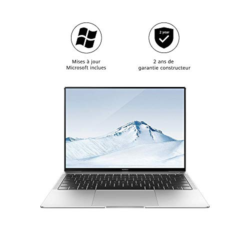 HUAWEI MateBook D 15.6' - PC Portable - 15.6 Pouces (Core i5, RAM 8Go, SSD 256Go, Windows 10 Home) - Argent