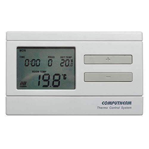 COMPUTHERM Q7 Thermostat d'ambiance programmable pour radiateur, climatisation, chauffage au sol, régulateur de température, 6 programmes par jour