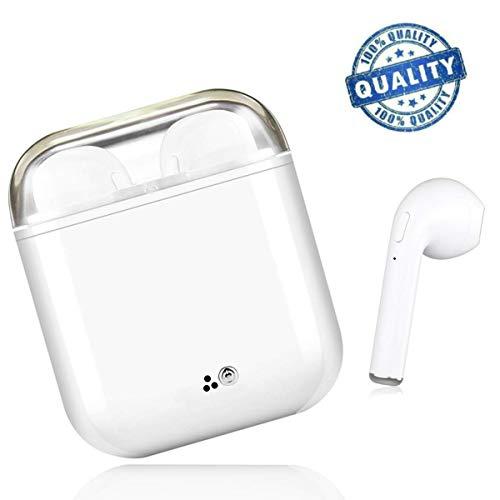 Sh-GLJZ-Auriculares-Bluetooth-Auriculares-inalmbricos-Blancos-Auriculares-intrauditivos-Manos-Libres-Auriculares-con-cancelacin-de-Ruido-Compatible-con-Samsung-Galaxy-S8-Huawei-y-Otro-Android