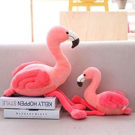 Ecent Flamingo Peluche Giocattolo Fenicottero Rosa farcito Peluche Giocattolo Morbido Regalo –