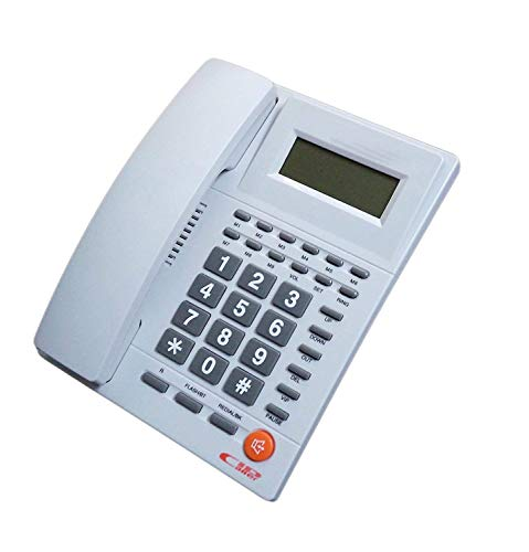 Upsham Landline Phone Telephone Corded Phone for Office and Home Purpose Bfone Orientel KX-T1588 (Multi-Color)