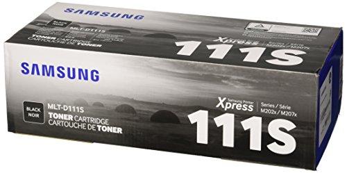 Samsung MLT-D111S SU810A Cartuccia Toner Originale Standard, 1.000 Pagine, Compatibile con Stampanti...