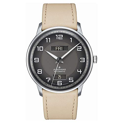 Junghans Meister Driver 027/4721.01 - Orologio automatico da uomo con data e giorno
