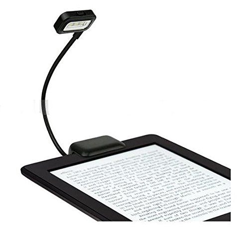 ProElite Adjustable Flexible LED Light for Kindle and Book Reading with Batteries and 2 Level of Light (Black) 7  ProElite Adjustable Flexible LED Light for Kindle and Book Reading with Batteries and 2 Level of Light (Black) 41ClzOmtj3L