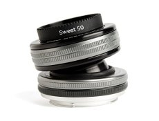 Lensbaby Composer Pro II W Sweet 50 Optic - Objetivo para Micro 4/3 (50 mm, f/2.5) color negro