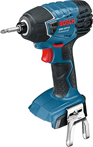 Best impact driver for working overhead and in tight spaces - Bosch Professional GDR 18 V-LI Cordless Impact Driver Comes with 3 years warranty