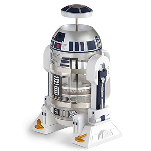WDGT Caffettiera in acciaio inox Star Wars robot Caffettiera per caffè in vetro 960ML