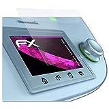 atFoliX Glasfolie passend für Vorwerk Thermomix® TM5®, Panzerfolie 9H Hybrid-Glass FX Schutzpanzer Folie