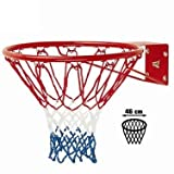 Canestro Basket Regolamentare con Rete e Kit fissaggio