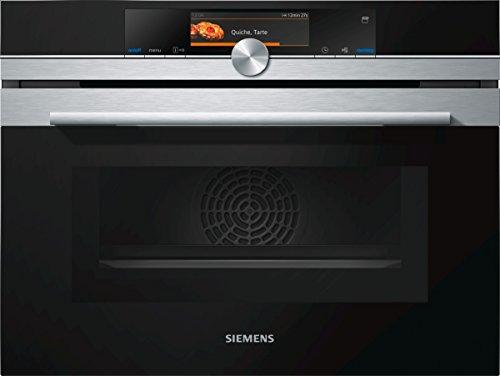 Siemens - forno combinato ad incasso a vapore/pirolitico CN678G4S6 finitura acciaio inox da 45 cm