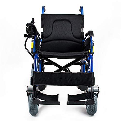 RSDPJ Scooter Elettrico Sedia a rotelle in Lega di Alluminio Pieghevole Batteria al Litio Sedia a rotelle Anziani disabili Sedia a rotelle Auto Portatile Cura Scooter a Quattro Ruote
