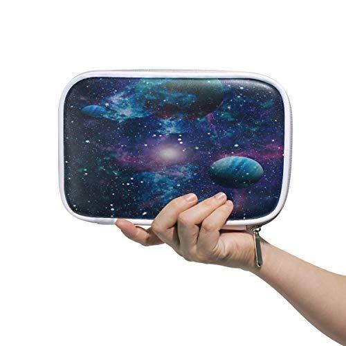 Hunihuni - Astuccio multifunzione Nebula Galaxy, per matite e pennelli da trucco, per ragazzi e...