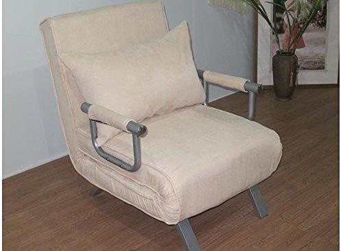 ITALFROM Divano Letto Sofa Bed Beige 67x69x83h DIVANETTI Divano Letto 1 Piazza