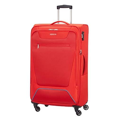 American Tourister Hyperbreez Trolley Grande 4 Ruote colore Red espandibile