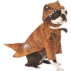 Rubies Jurassic World: Fallen Kingdom T. Rex - Disfraz para Mascota, tamaño Grande