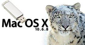 Mac OS X 10.6 Snow Leopard Mise à niveau, réparation, installation USB for iMac, Mac