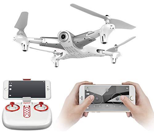 SUPER TOY Altitude Hold HD Wi-Fi Camera Drone Professional Quadcopter (Multicolor)