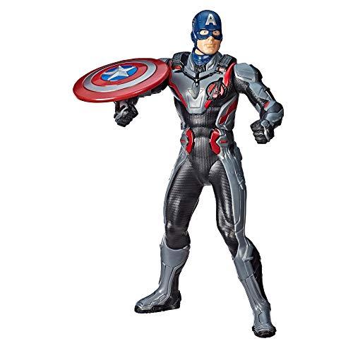 Marvel Avengers: Endgame - Captain America lancia scudo (Action Figure interattiva elettronica con...