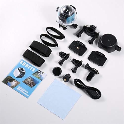 Telecamera da 360 Gradi per Wi-Fi 2448P 30FPS 16M Pellicola per Virtual Glasses VR Action Sport...