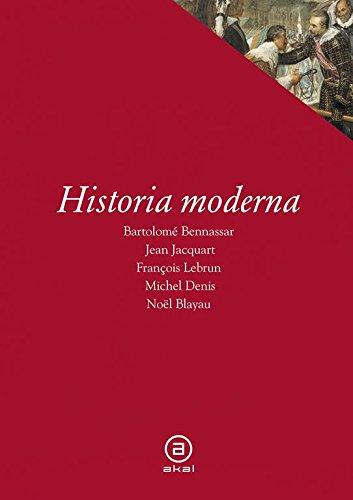 Historia moderna (Textos)