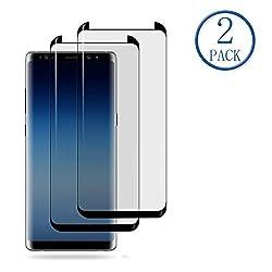 Kaufen Mr.Twinklelight 2er Samsung Galaxy Note 8 Schutzfolie, [9H Härte] [3D-Kurven-fit] [Anti Kratzen,Öl,Bläschen] [Anti Fingerabdruck] [HD Ultra Klar] Panzerglasfolie Hartglas Displayschutzfolie für Samsung Galaxy Note 8