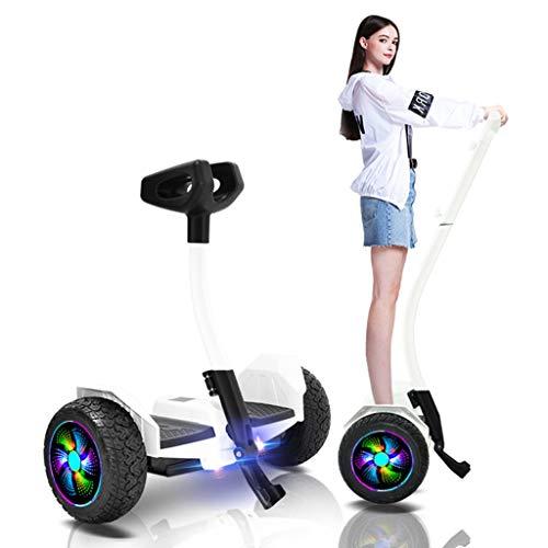 Equilibrio Scooter con Maniglia telescopica da Bar, Luci Smart elettrica Transporter Hoverboard con...