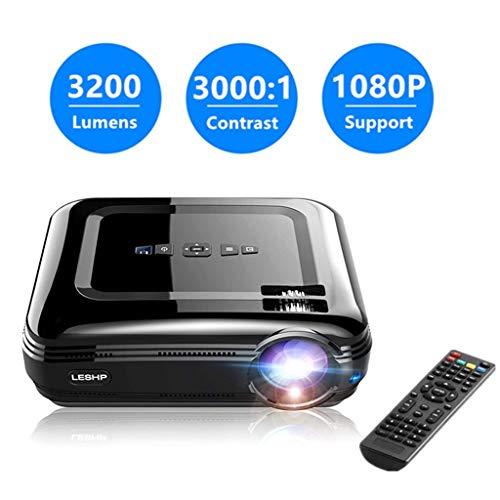 Proiettore, ROXTAK 3200 Lumen LED Portatile Proiettore Full HD , Contrasto 3000:1, Max Risoluzione...