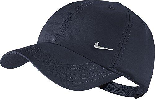 Nike Cappellino Metal Swoosh Heritage 86 - Colore Blu Scuro, Taglia Unica