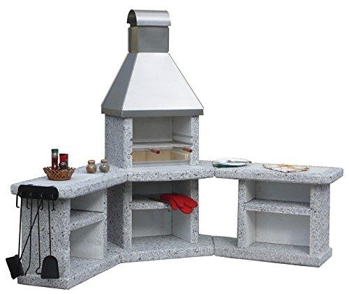 Wellfire Toskana Edelstahl Grillkamin Außenküche
