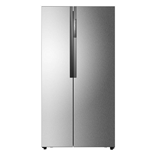 Haier HRF-522DG7 Freestanding 515L A++ Silver side-by-side refrigerator - Side-By-Side...