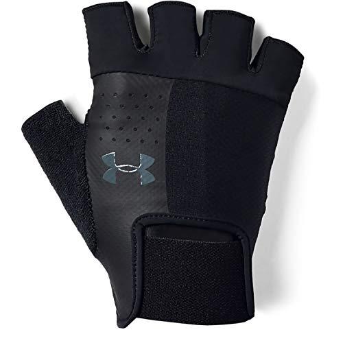 Under Armour Men's Training Glove, Guanti Uomo, Nero (Black/Black/Pitch Gray), L
