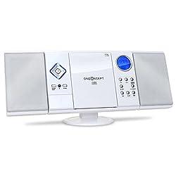 Kaufen oneConcept V-12 • Stereoanlage • Kompaktanlage • Microanlage • MP3-fähiger CD-Player • UKW/MW-Radiotuner • MP3-fähiger USB-Port • MP3-Ordnernavigation • SD-Slot • AUX-In • Fernbedienung • LCD-Display • Wecker • Uhr • Wandmontage möglich • weiß