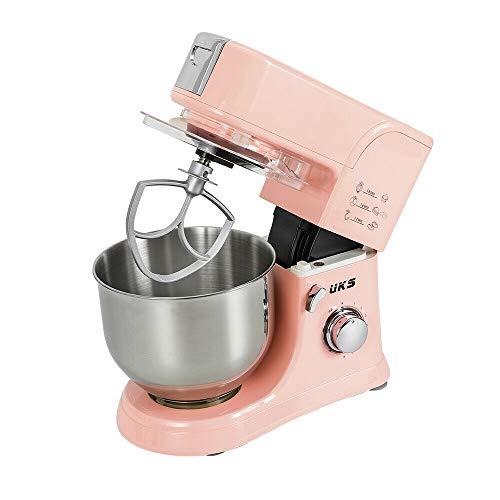 Robot Cucina Impastatrice Planetaria Professionale Multifunzione Rosa 5.5 Litri