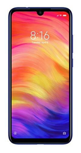 "Xiaomi Redmi Note 7 16 cm (6.3"") 4 GB 64 GB Ranura híbrida Dual SIM 4G Azul 4000 mAh - Smartphone (16 cm (6.3""), 4 GB, 64 GB, 48 MP, Android 9.0, Azul)"